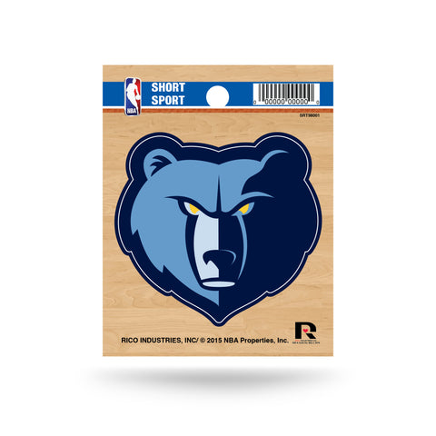"Memphis Grizzlies 3"" x 2"" Die-Cut Decal Window, Car or Laptop!"