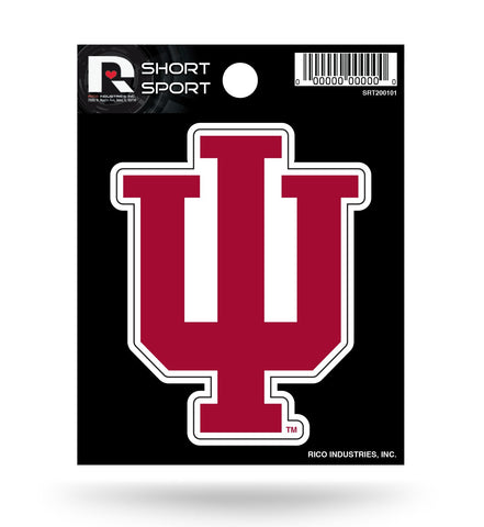"Indiana Hoosiers 3"" x 3"" Die-Cut Decal Window, Car or Laptop!"