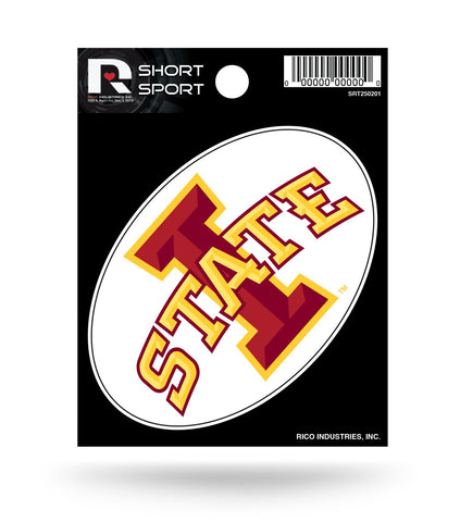 "Iowa State Cyclones 3"" x 2"" Die-Cut Decal Window, Car or Laptop!"