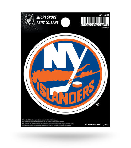 "New York Islanders 3"" x 3"" Die-Cut Decal Window, Car or Laptop!"