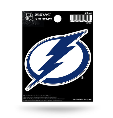 "Tampa Bay Lightning 3"" x 3"" Die-Cut Decal Window, Car or Laptop!"