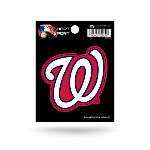 "Washington Nationals 3"" x 2"" Die-Cut Decal NEW!! MLB Car or Laptop"