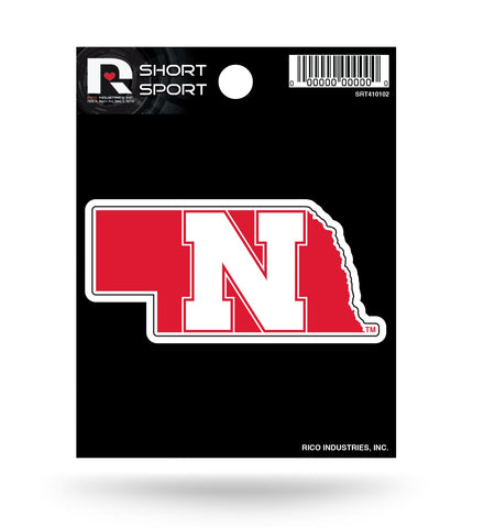 "Nebraska Huskers 2"" x 1"" Die-Cut Decal Window, Car or Laptop!"
