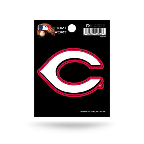 "Cincinnati Reds 3"" x 2"" Die-Cut Decal NEW!! MLB Car or Laptop"