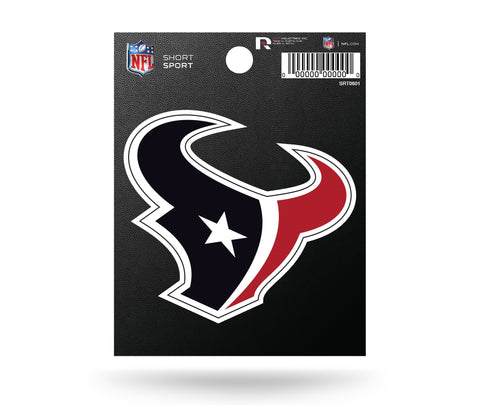 "Houston Texans  3"" x 3"" Die-Cut Decal Window, Car or Laptop!"