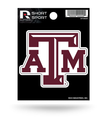 "Texas A&M Aggies 3"" x 3"" Die-Cut Decal Window, Car or Laptop!"