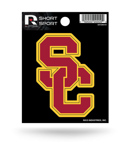 "USC Trojans 3"" x 2"" Die-Cut Decal Window, Car or Laptop!"