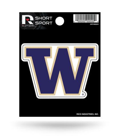 "Washington Huskies 3"" x 2"" Die-Cut Decal Window, Car or Laptop!"