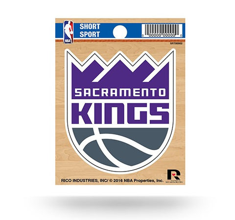 "Sacramento Kings New Logo 3"" x 3"" Die-Cut Decal Window, Car or Laptop!"