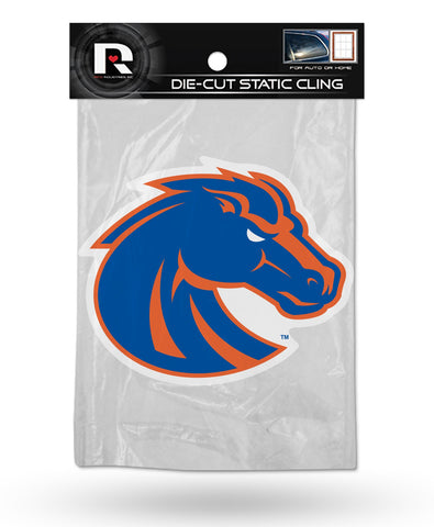 Boise State Broncos Die Cut Static Cling Decal Sticker 5 X 4 NEW!! Car Window