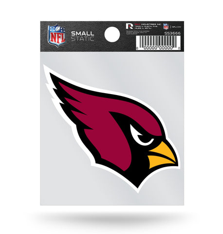 Arizona Cardinals Logo Static Cling Sticker Decal NEW!! Window or Car!