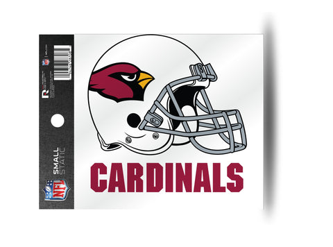 Arizona Cardinals Helmet Static Cling Sticker NEW!! Window or Car! NFL