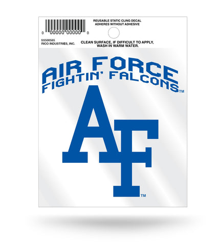 Air Force Falcons Static Cling Window Decal Sticker NEW!