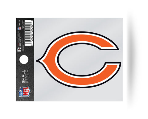 Chicago Bears Helmet Logo Static Cling Sticker Decal NEW!! Window or Car!