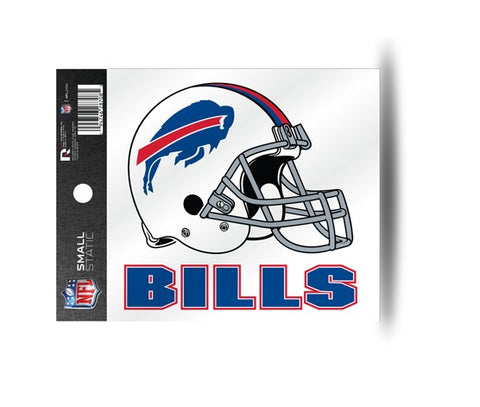 Buffalo Bills Helmet Static Cling Sticker NEW!! Window or Car! NFL