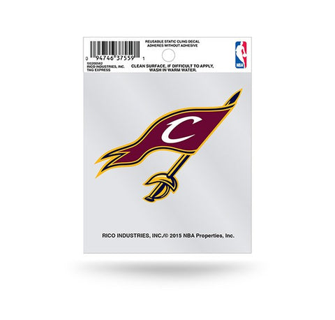 Cleveland Cavaliers Sword Logo Small Static Window Cling