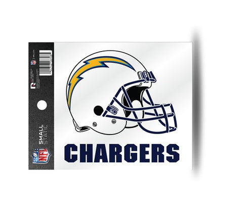 San Diego Chargers Helmet Static Cling Sticker NEW!! Window or Car! NFL