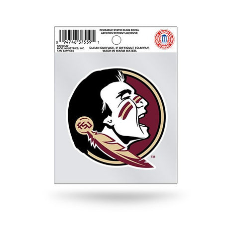 Florida State Seminoles Static Cling Sticker NEW!! Window or Car! NCAA
