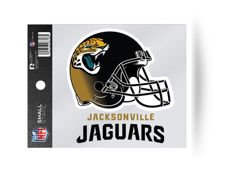 Jacksonville Jaguars Helmet Static Cling Sticker NEW!! Window or Car! NFL