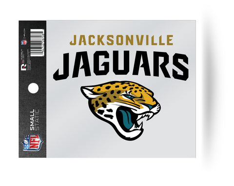 Jacksonville Jaguars Logo Static Cling Sticker NEW!! Window or Car! NFL