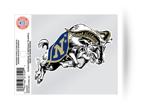 Navy Midshipmen Static Cling Window Decal Sticker NEW!