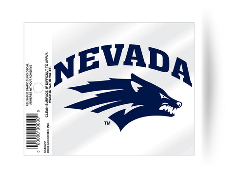 Nevada Wolf Pack Static Cling Sticker Decal NEW!! Window or Car!