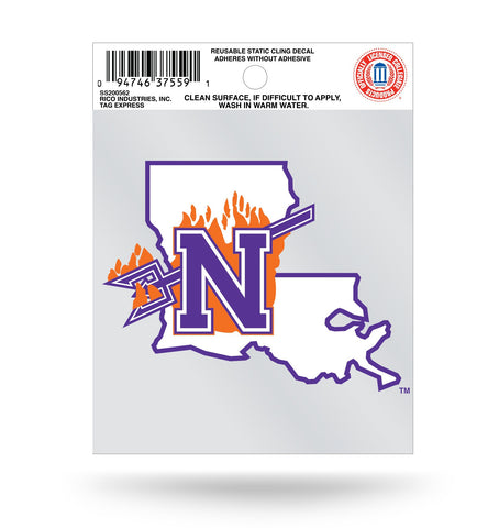 Northwestern State Demons Static Cling Sticker Decal NEW!! Window or Car!