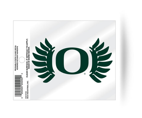 "Oregon Ducks ""Wings"" Logo Static Cling Sticker NEW!! Window or Car! NCAA"