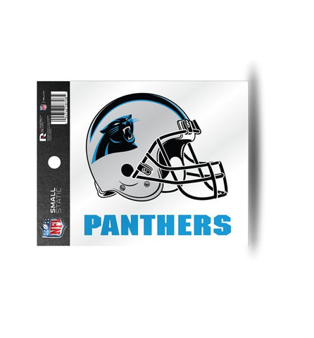 Carolina Panthers Helmet Static Cling Sticker NEW!! Window or Car! NFL