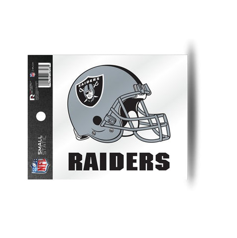 Oakland Raiders Helmet Static Cling Sticker NEW!! Window or Car! NFL