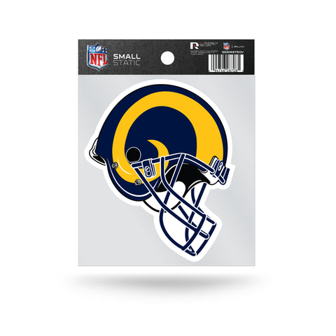 Los Angeles Rams Retro Helmet Static Cling Sticker NEW!! Window or Car! NFL