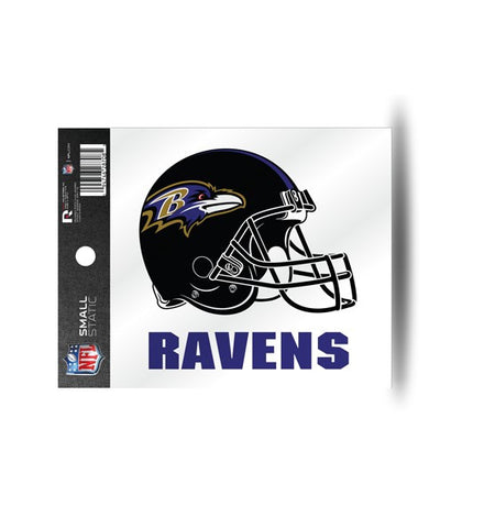 Baltimore Ravens Helmet Static Cling Sticker NEW!! Window or Car! NFL