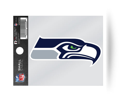 Seattle Seahawks Logo Static Cling Sticker Decal NEW!! Window or Car!