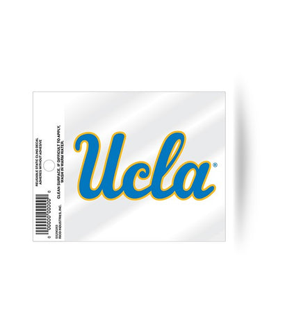 UCLA Bruins Logo Static Cling Sticker NEW!! Window or Car! NCAA