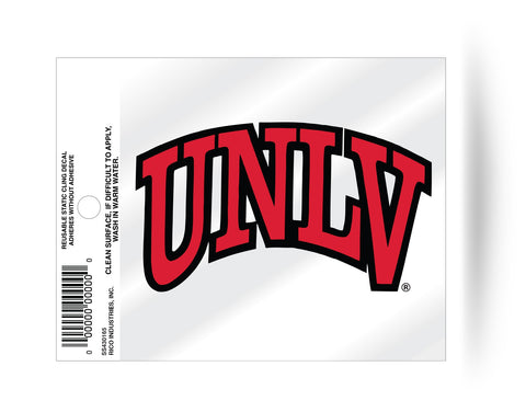 UNLV Runnin Rebels Static Cling Sticker Decal NEW!! Window or Car! Letters