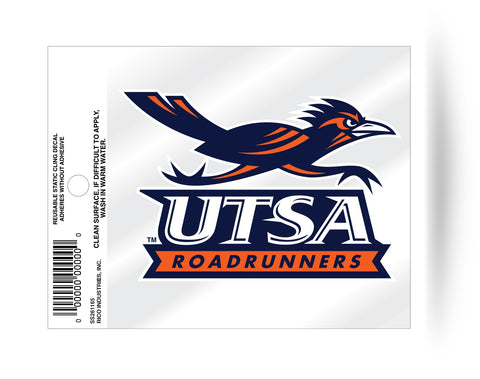 Texas San Antonio Roadrunners Static Cling Sticker Decal NEW!! Window or Car!