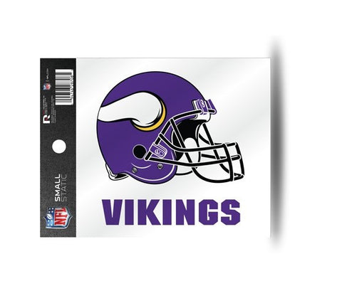 Minnesota Vikings Helmet Static Cling Sticker NEW!! Window or Car! NFL