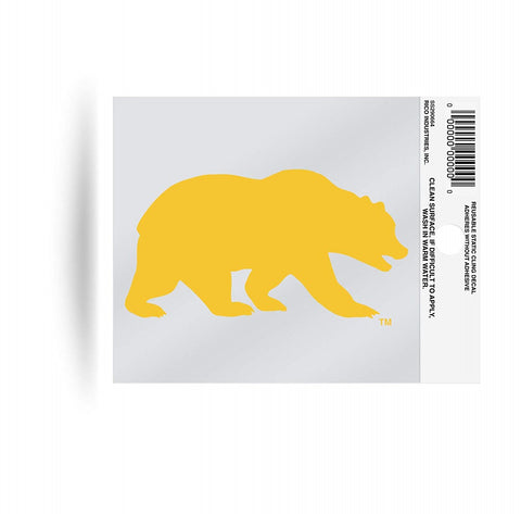 Cal Golden Bears Static Cling Sticker NEW!! Window or Car! NCAA