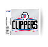 Los Angeles Clippers Logo Static Cling Sticker NEW!! Window or Car! NBA