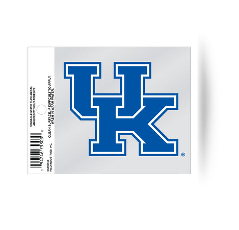 Kentucky Wildcats Static Cling Sticker NEW!! Window or Car! NCAA Anthony Davis