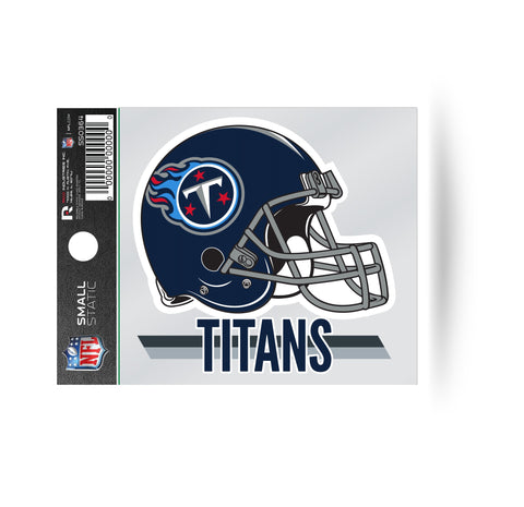 Tennessee Titans Helmet Logo Static Cling Sticker NEW!! Window or Car!