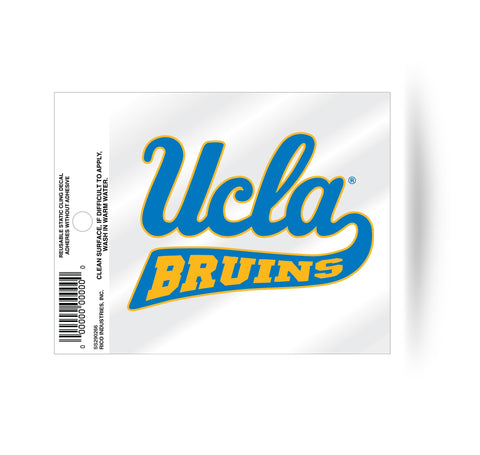 UCLA Bruins Static Cling Sticker NEW!! Window or Car! NCAA