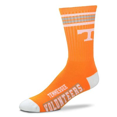 Tennessee Volunteers Socks Crew Length Size Large NEW!