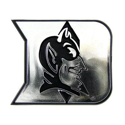 Duke Blue Devils Chrome Automobile Emblem NEW