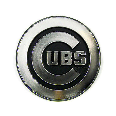 Chicago Cubs Logo 3D Chrome Auto Decal Sticker NEW! Truck or Car