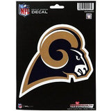 Los Angeles Rams Logo Die Cut Decal NEW!! 4 X 6 Window, Car or Laptop!