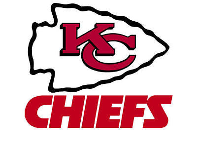 Kansas City Chiefs Static Cling Sticker NEW!! Window or Car! NFL