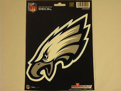Philadelphia Eagles Logo Die Cut Decal NEW!! 3 X 7 Window, Car or Laptop!