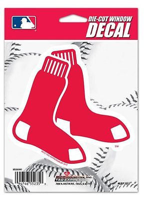 "Boston Red Sox 5"" x 6"" Die-Cut Decal Window, Car or Laptop! MLB"