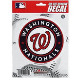 Washington Nationals 5 x 5 Die-Cut Decal Bryce Harper MLBWindow, Car or Laptop